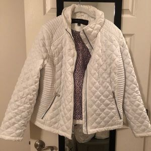White Winter Puffy Jacket